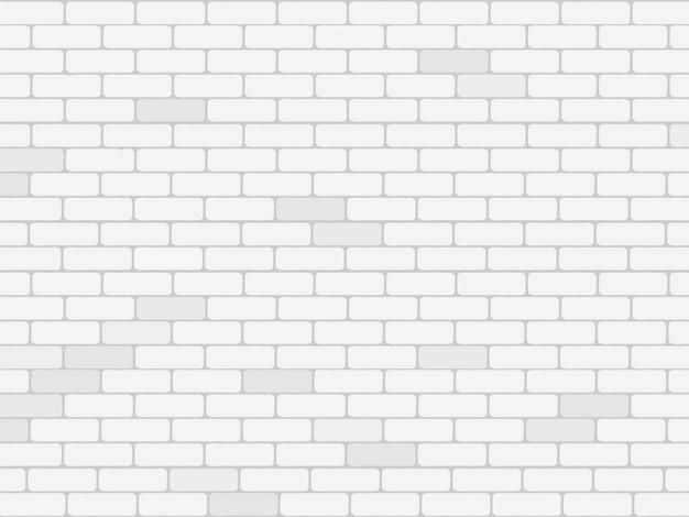 Fondo de pared de ladrillo blanco