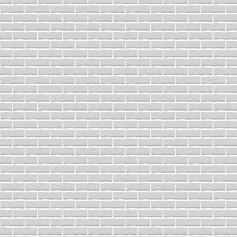 Fondo de pared de ladrillo gris claro realista.