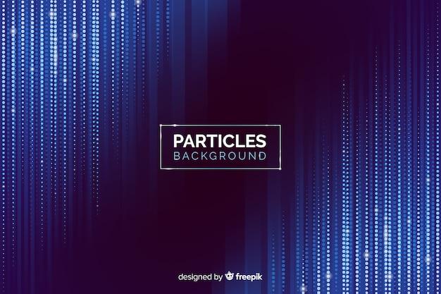 Fondo partículas degradadas cayendo