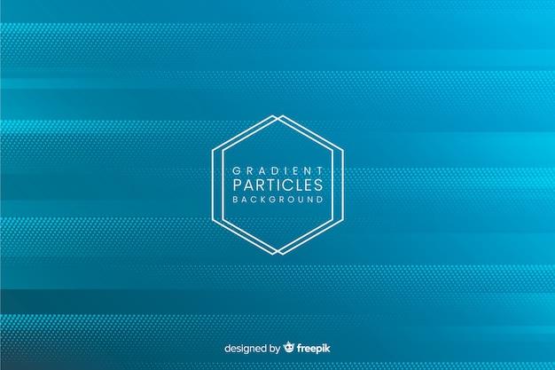 Fondo partículas degradadas