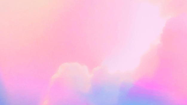 Fondo pastel nublado