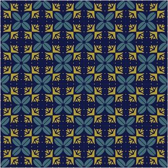 Fondo de patrón abstracto minimalista estilo étnico