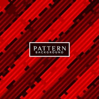 Fondo patrón abstracto, rojo