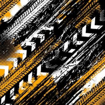 Fondo con patrón abstracto sucio