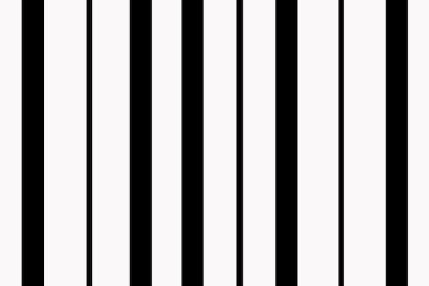 Fondo de patrón abstracto, vector de diseño de rayas negras
