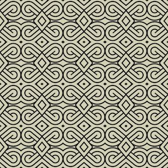 Fondo de patrón de arte de línea abstracta