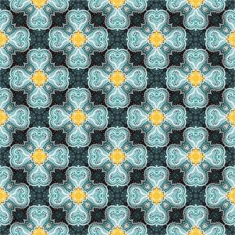 Fondo de patrón de batik, batik indonesio