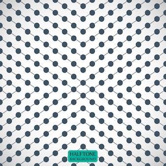 Fondo de patrón de círculos y líneas grises para su diseño