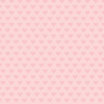 Fondo de patrón de corazón rosa