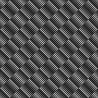 Fondo de patrón cuadrado geométrico blanco y negro