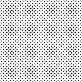 Fondo de patrón de estrella curvada transparente monocromo geométrica