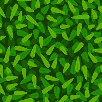 Fondo de patrón de follaje verde