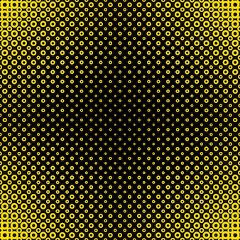 Fondo de patrón geométrico círculo de semitonos