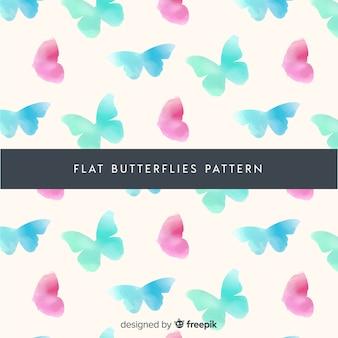 Fondo patrón mariposas