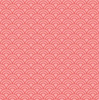 Fondo de patrón de onda japonés
