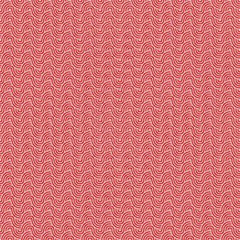 Fondo de patrón de ondas tradicionales asiáticas