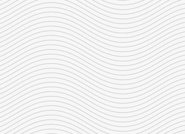 Fondo de patrón ondulado líneas suaves
