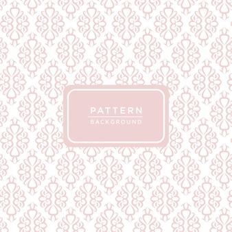Fondo de patrón ornamental para invitación de boda