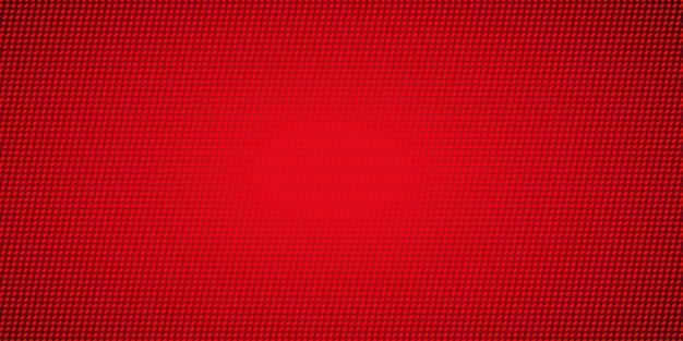 Fondo de patrón de píxeles rojos