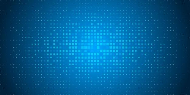 Fondo de patrón de puntos de color aleatorio, geométrico abstracto de cuadrado