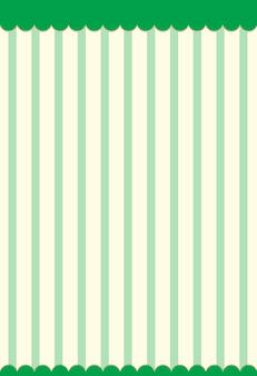 Fondo de patrón de rayas verticales verdes