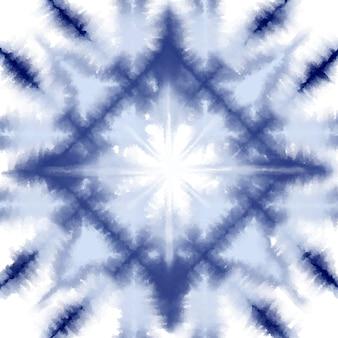 Fondo de patrón de teñido anudado shibori