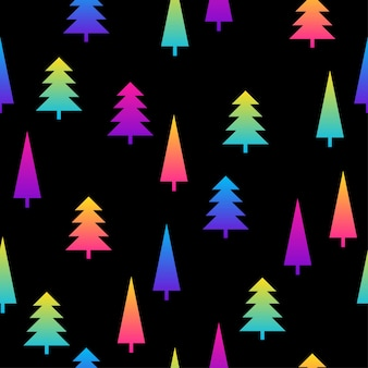 Fondo de patrón transparente abstracto negro y arco iris pintura de muestra moderna para tarjeta de cumpleaños, invitación de fiesta, papel tapiz de venta, papel de regalo de vacaciones, tela, estampado de bolsa, camiseta, publicidad de taller