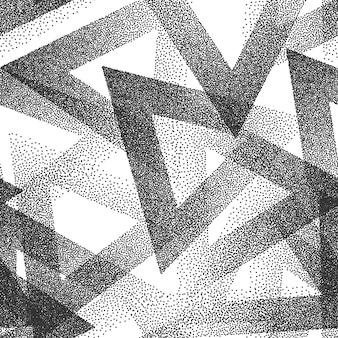 Fondo de patrón transparente punteado abstracto