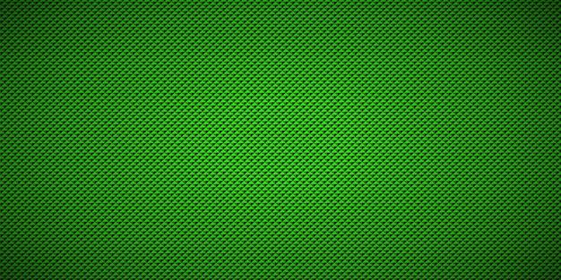 Fondo de patrón triangular geométrico verde