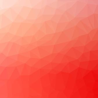 Fondo de patrón de triángulo rojo
