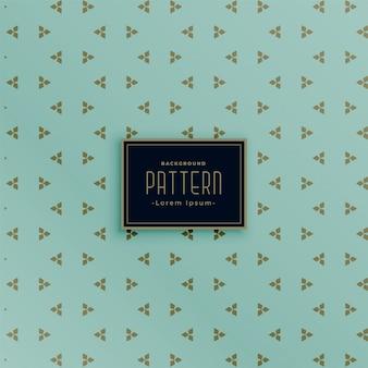 Fondo de patrón vintage de estilo triángulo pequeño mínimo
