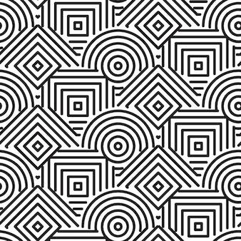 Fondo patrones de formas geométricas