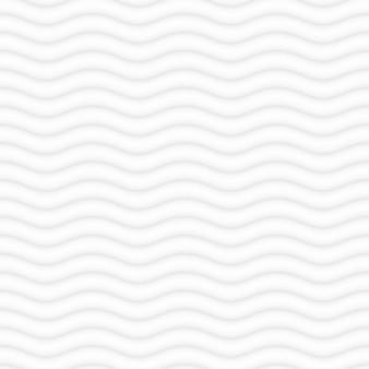 Fondo de patrones ondulados blancos