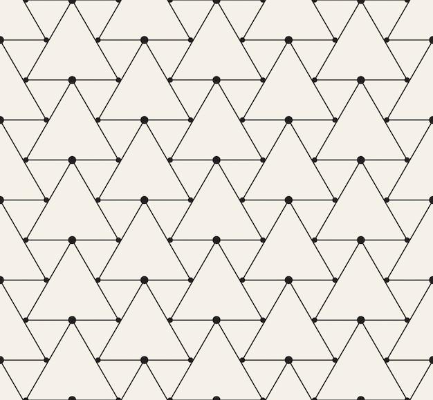 Fondo de patrones triangulares