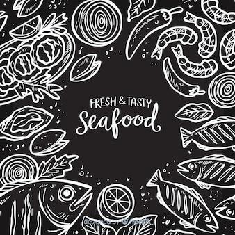 Fondo de pescado y marisco