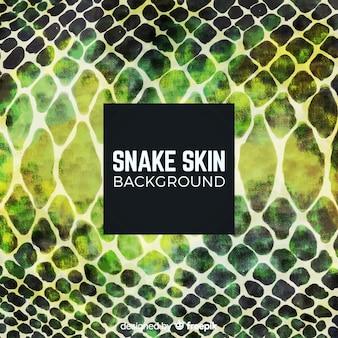 Fondo de piel de serpiente