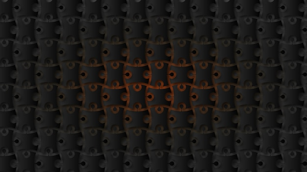 Fondo de piezas de rompecabezas moderno