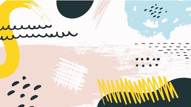 Fondo pintado abstracto