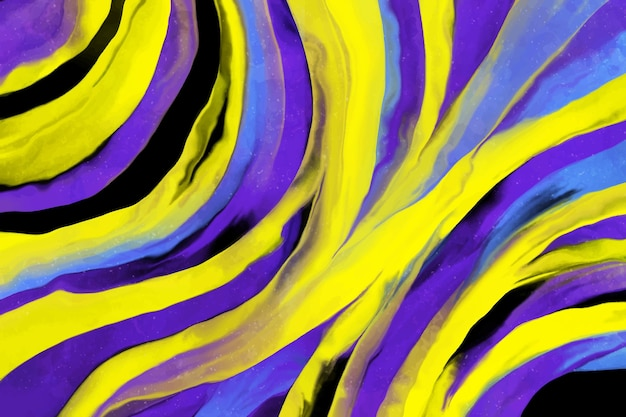 Fondo pintado acrílico colorido