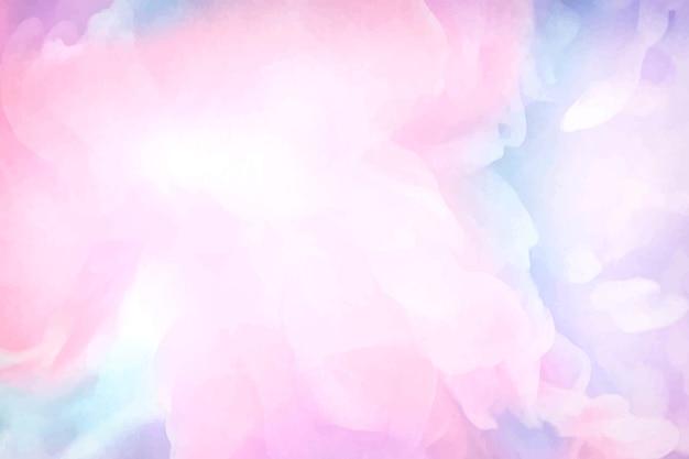 Fondo de pintura de acuarela rosa vibrante