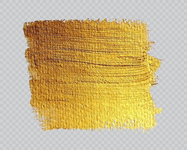 Fondo de pintura dorada