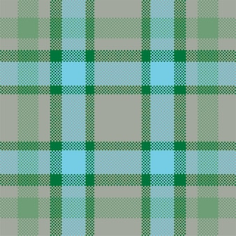 Fondo de píxeles. cuadros modernos de patrones sin fisuras. tela de textura cuadrada. textil escocés de tartán. adorno de madras de color de belleza.
