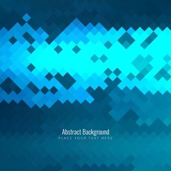Fondo de pixels abstracto moderno azul