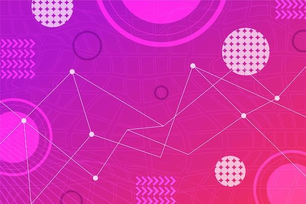 Fondo plano abstracto de estructura metálica vector gratuito