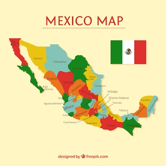 Mapa Mexico Fotos Y Vectores Gratis