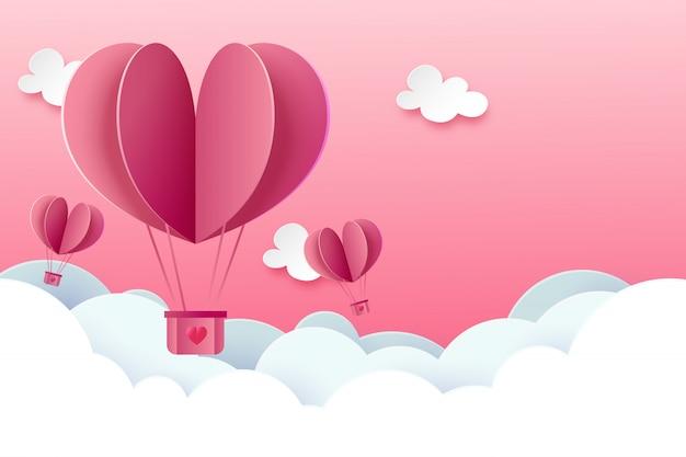 Fondo de plantilla de amor