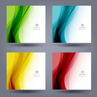 Fondo de plantilla de color abstracto.