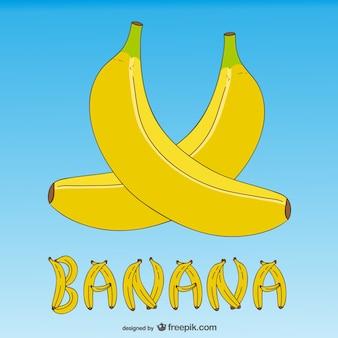 Fondo de plátanos