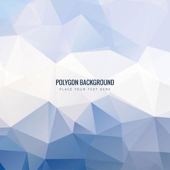 Fondo poligonal celeste