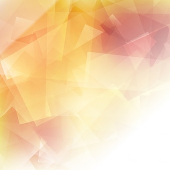 Fondo poligonal con colores cálidos